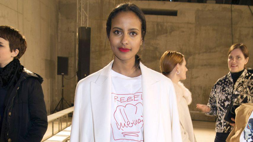 Sara Nuru auf der Malaikaraiss Modenschau in Berlin
