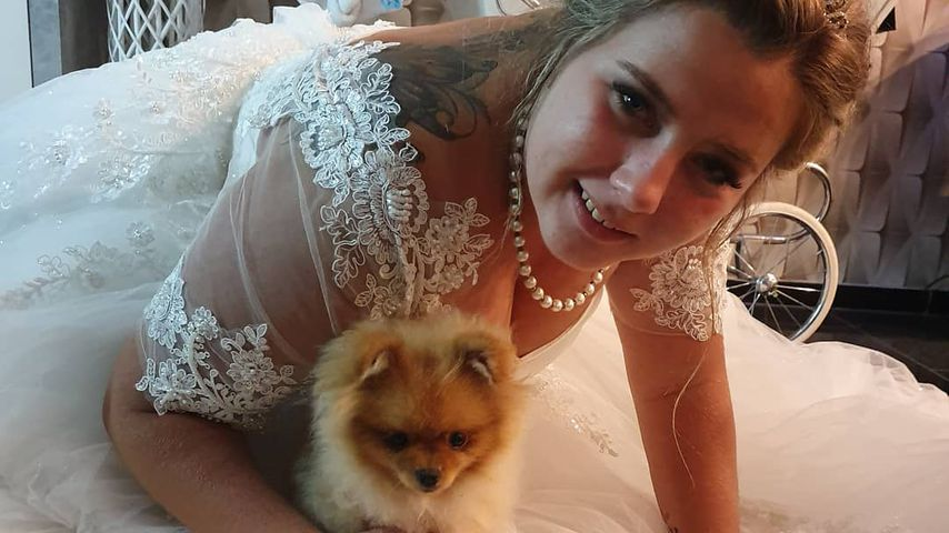 Auf Sarafinas Hochzeit: Wollny-Hund Feivel wurde gesegnet!
