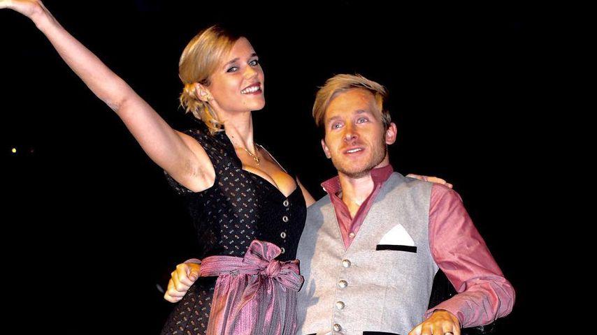 Sarah Elena und Samuel Koch auf den Wiesn in München