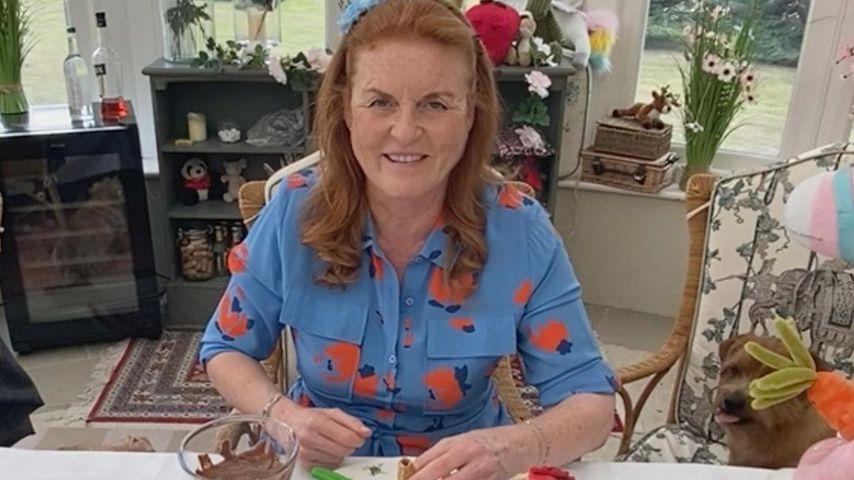 Sarah Ferguson im August 2020