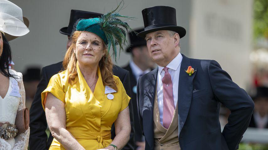 Sarah Ferguson und Prinz Andrew in Ascot