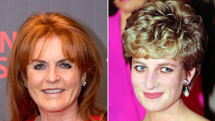 Während Prinzessin Eugenies Hochzeit: Fergie vermisste Diana