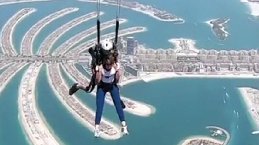 Sarah Harrison in Dubai, April 2021