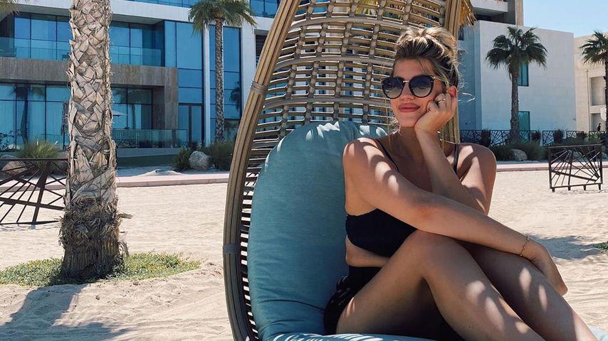 Sarah Harrison in Dubai