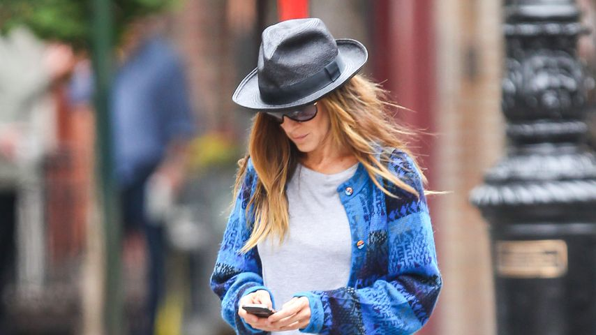 """Sex and the City""-Sarah Jessica Parker im Casual-Look"
