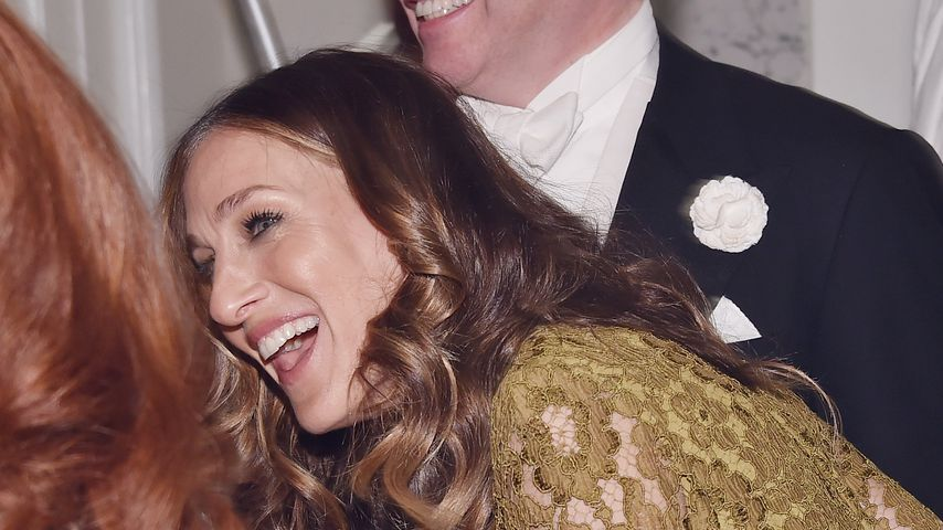 "Sarah Jessica Parker und Matthew Broderick bei der ""It's Only A Play"" Re-Opening Night in New York"