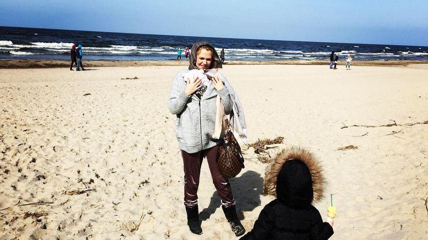 Eifersüchtig? So gut verstehen sich Sara Kulkas Töchter!