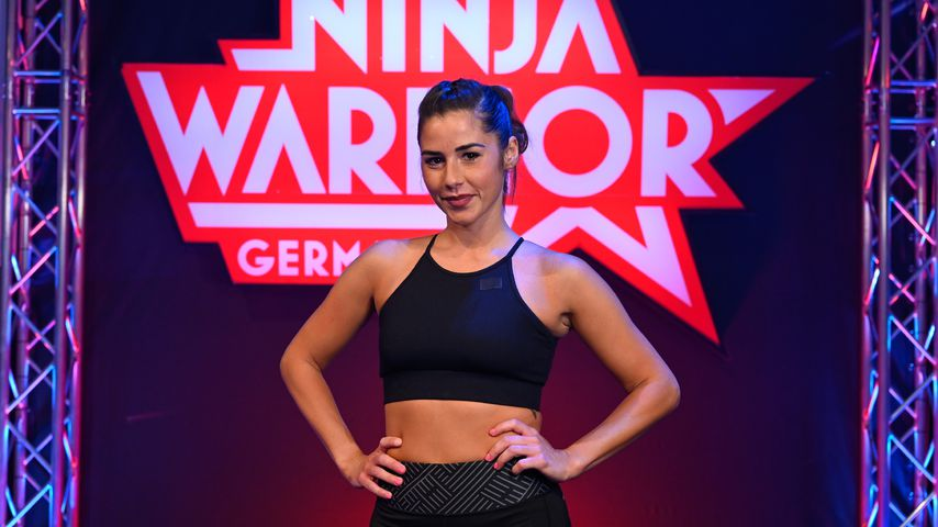 "Sarah Lombardi beim ""Ninja Warrior Germany – Promi-Special"""