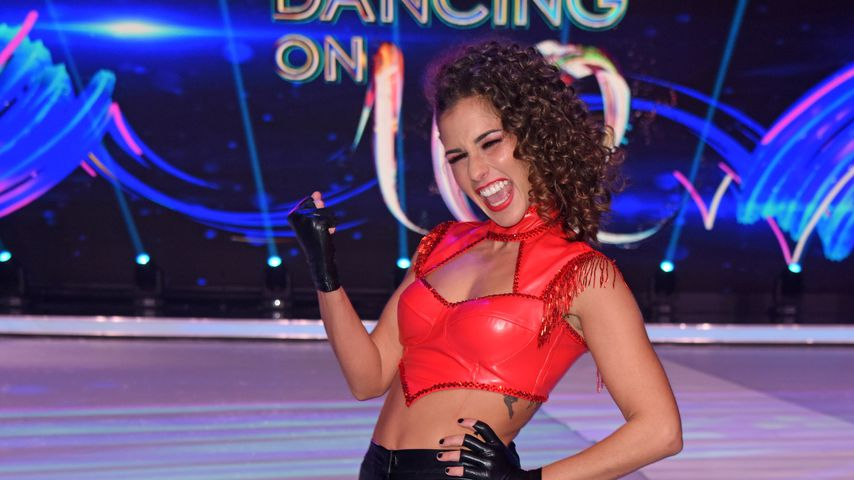 "Sarah Lombardi im ""Dancing on Ice""-Halbfinale"