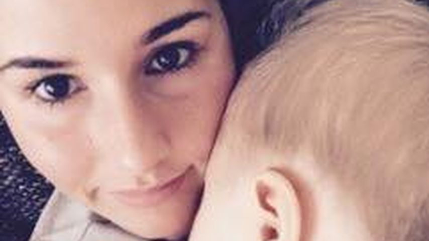 Knuddelig! Sarah Lombardi zeigt Baby Alessios Gesicht