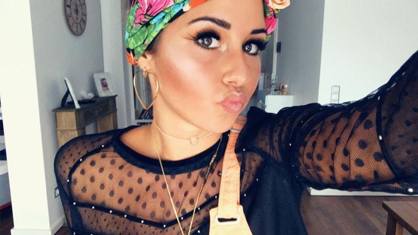 Sarah Lombardi, Werbe-Star auf Instagram