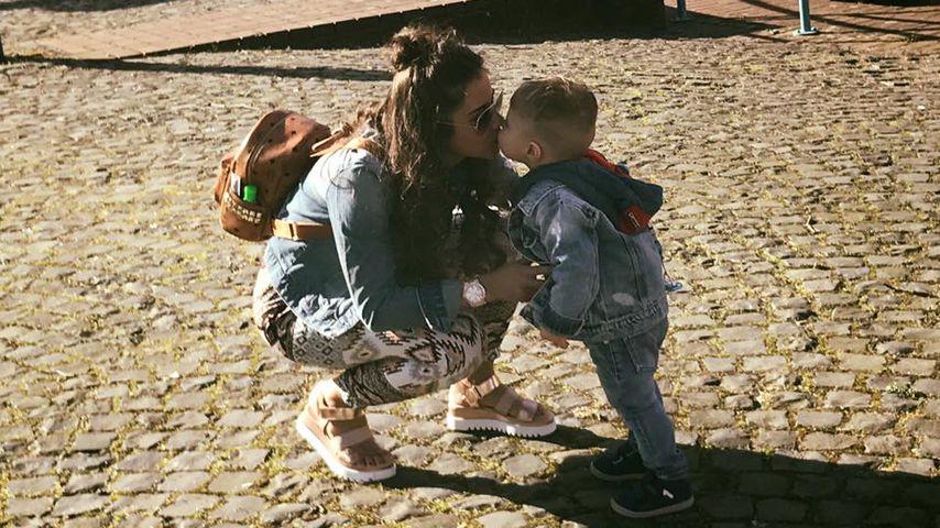 Sarah küsst Mini-Styler: Alessio im coolen Jeans-Look!