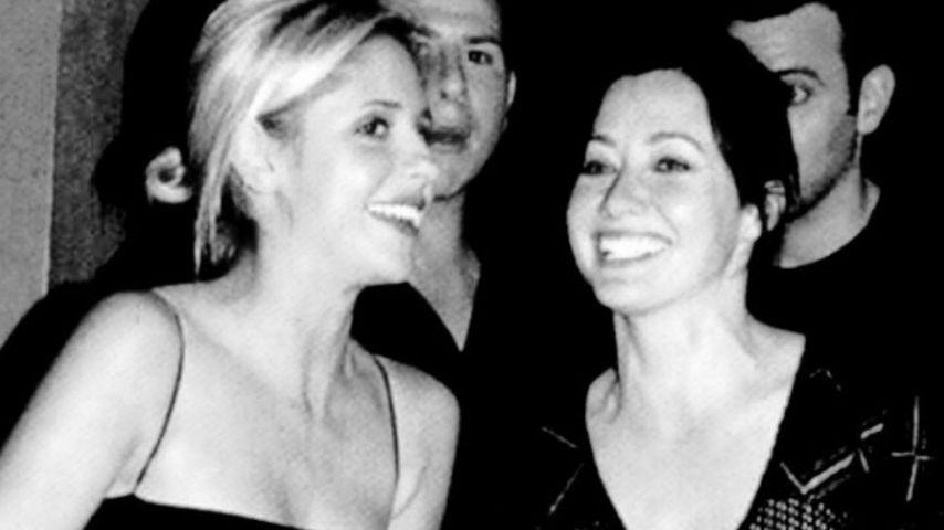 Die Serien Stars Sarah Michelle Gellar und Shannen Doherty