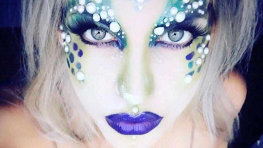 Schaurig-schön: Sarah Nowaks mysteriöses Halloween-Kostüm