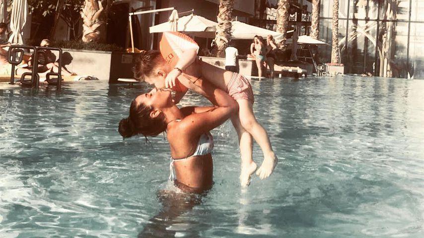 Sarah und Alessio Lombardi in Dubai