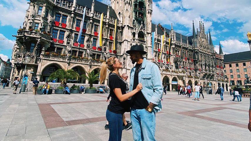 Sarah und Dominic Harrison in München
