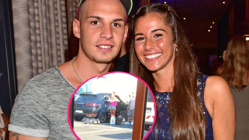 Foto aufgetaucht: Pietro & Sarah beim Einkaufen vereint!