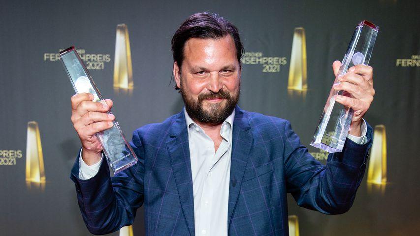 Sascha Alexander Geršak beim Deutschen Fernsehpreis 2021