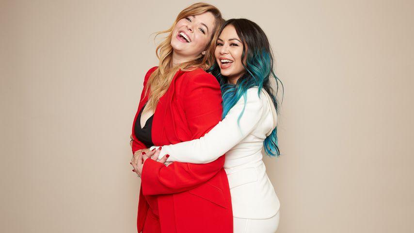 Sasha Pieterse und Janel Parrish, Schauspielerinnen