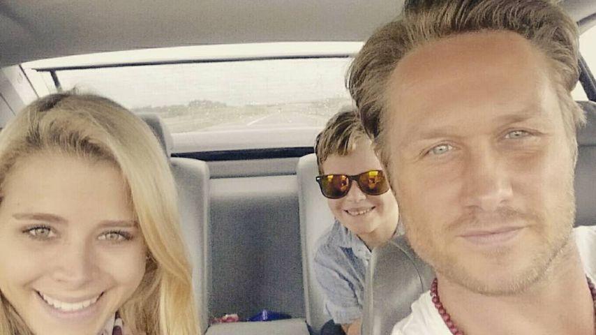 Saskia, Nico Schwanz & sein Sohn Damian Dion auf dem Weg nach Berlin, um Hund Batman zu holen