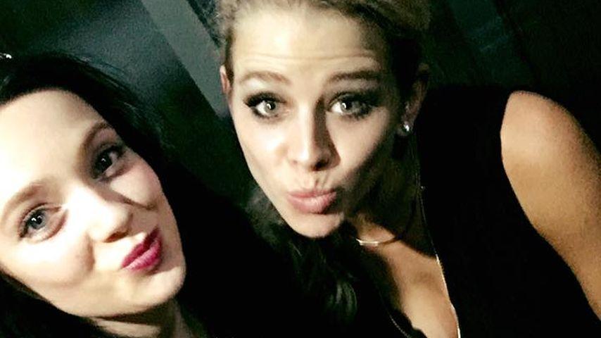 Saskia Atzerodt und Anne Wünsche im November 2016 auf einem Bild bei Facebook