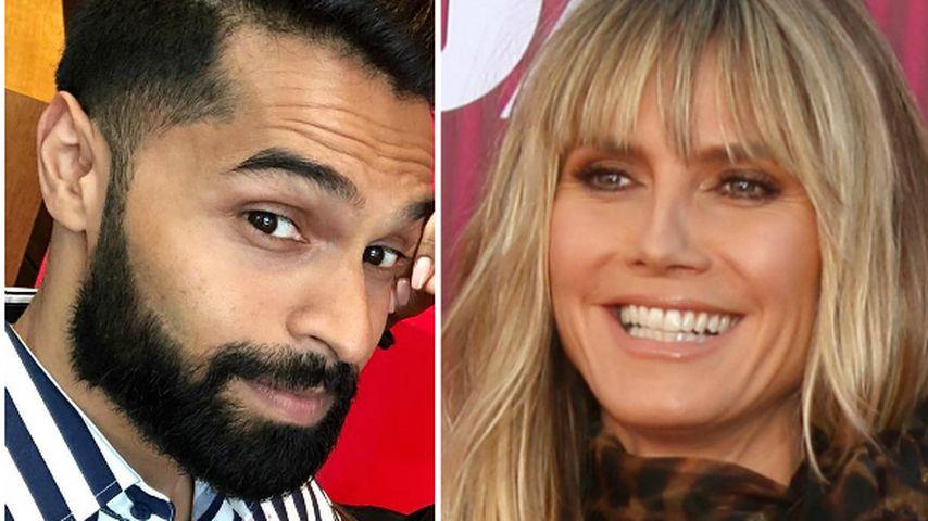 Zu viel? GNTM-Sayanas Verlobter zieht für Heidi Klum blank!