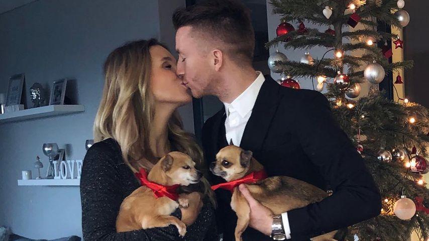 Scarlett Gartmann und Marco Reus an Weihnachten 2018