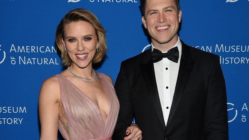 Scarlett Johansson und Colin Jost bei einem Event in NYC im November 2018