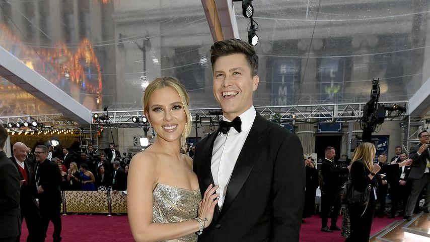 Scarlett Johansson und Colin heirateten ziemlich kurzfristig