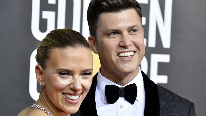 Scarlett Johansson und Colin Jost, 2020