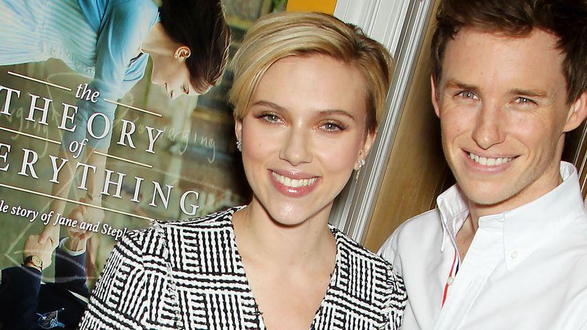 Eddie Redmayne und Scarlett Johansson