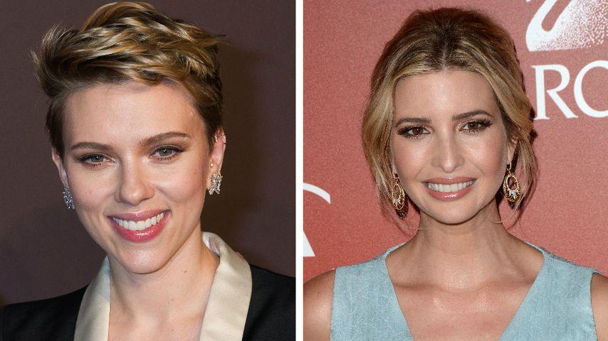 "Oha: Scarlett Johansson wird zur ""Komplizin"" Ivanka Trump!"