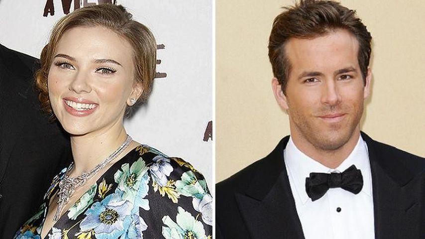 Ryan Reynolds und Scarlett Johansson
