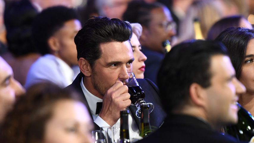 Schauspieler James Franco bei den SAG Awards in Los Angeles