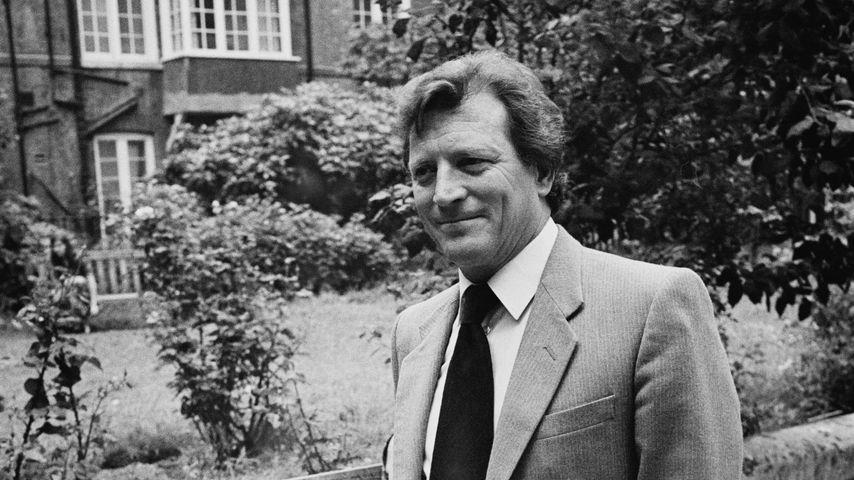 Schauspieler Johnny Briggs, 1984