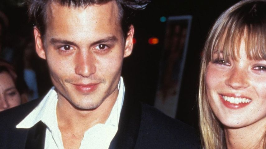 Kate Moss & Johnny Depp: Reunion sieht anders aus