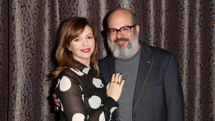 Schauspielerin Amber Tamblyn mit ihrem Mann David Cross