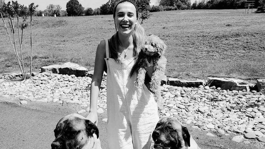 Schauspielerin Millie Bobby Brown im April 2020