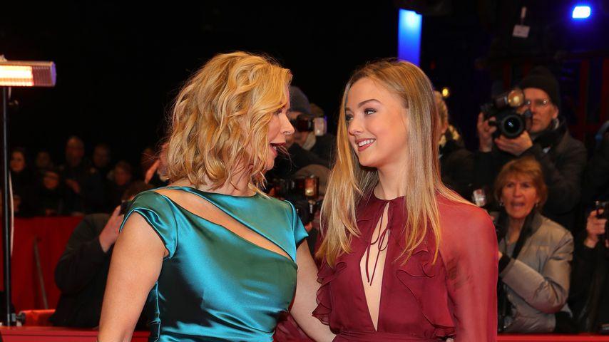 Schauspielerin Veronica Ferres mit ihrer Tochter Lilly Krug im im Februar 2020 in Berlin