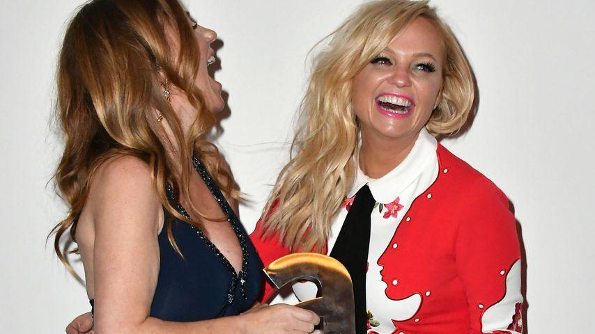 """Geri Halliwell und Emma Bunton bei der Verleihung der """"Attitude Magazine Awards"""""""