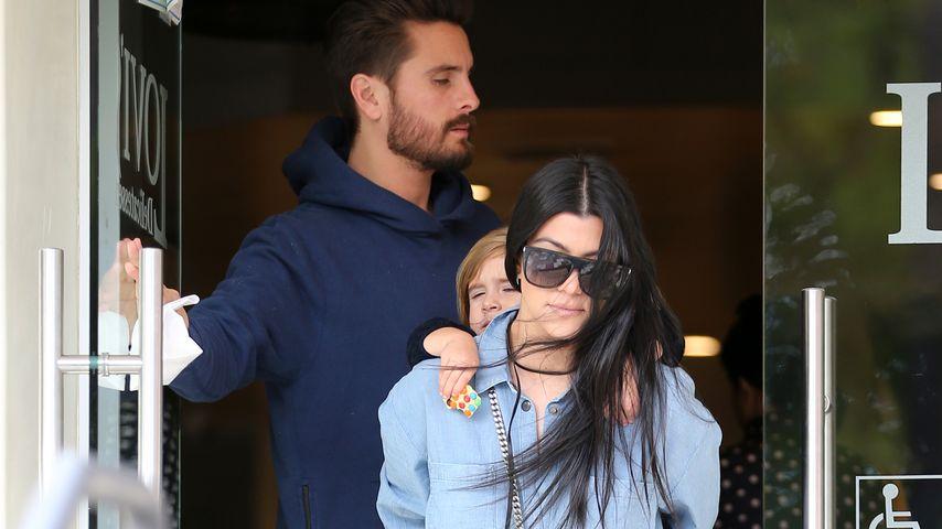 Kourtney Kardashian, Scott Disick und Penelope Disick