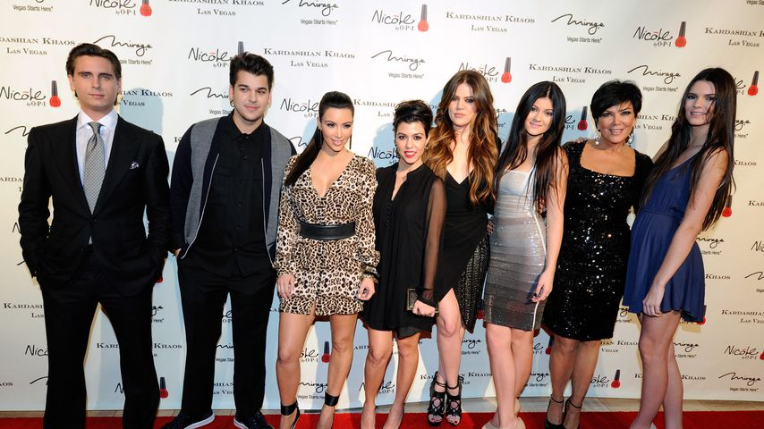"Die ""Keeping up with the Kardashians""-Stars im Dezember 2011"