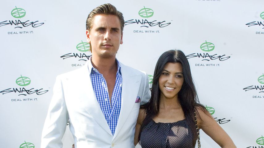 Scott Disick und Kourtney Kardashian, 2010