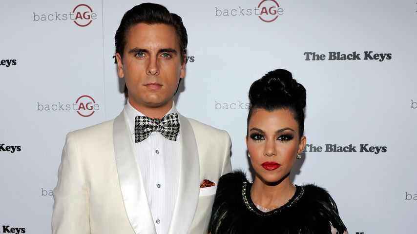 Scott Disick und Kourtney Kardashian in Las Vegas