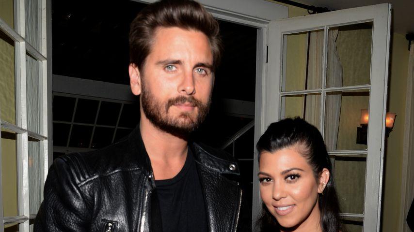 Scott Disick und Kourtney Kardashian bei der Calvin Klein Jeans' Celebration