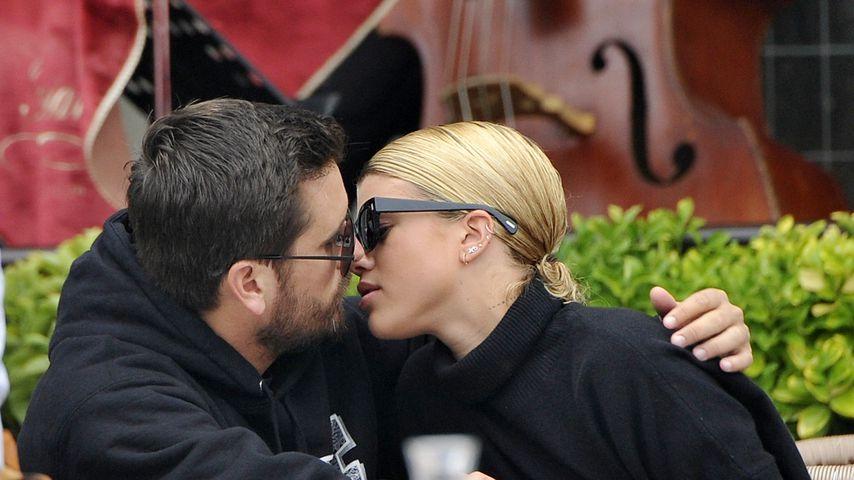 Scott Disick und Sofia Richie in einem Cafe in Venedig