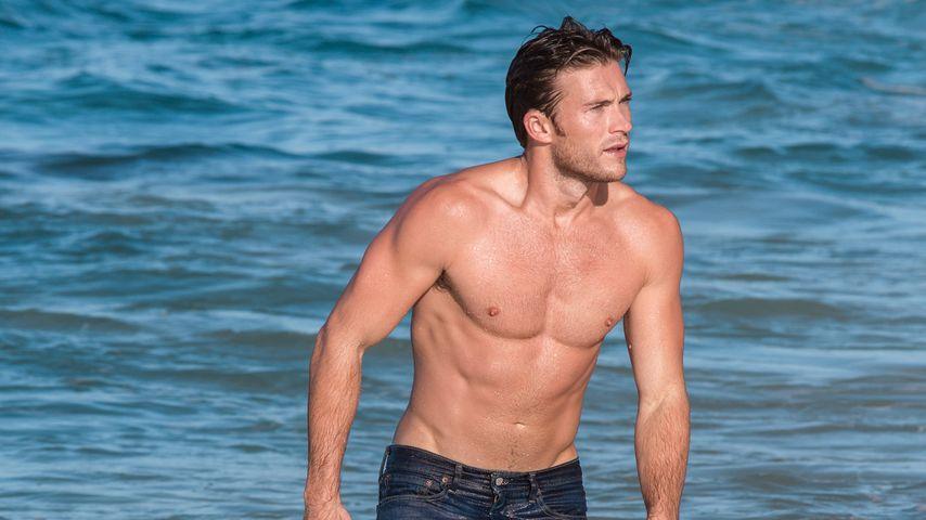 """Scott Eastwood beim Fotoshootin für """"Davidoff Cool Water"""""""