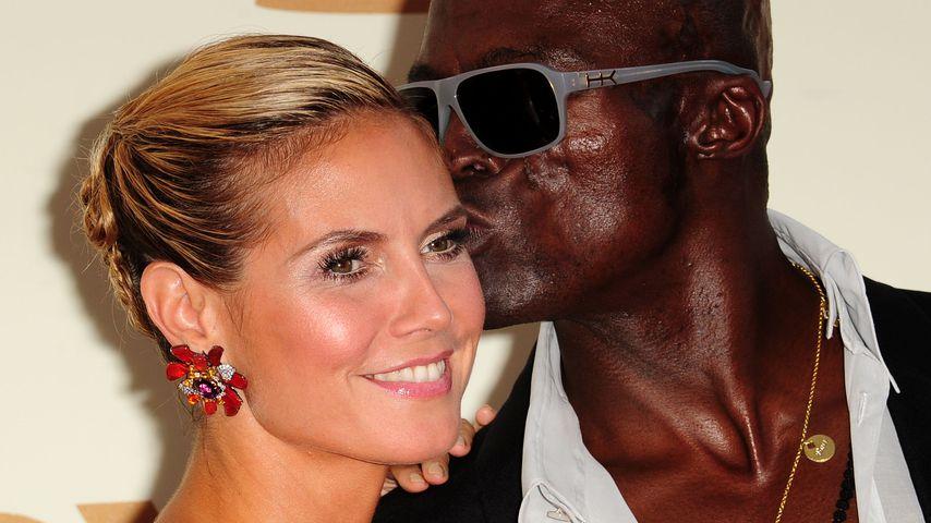 Heidi Klum und Seam im September 2011