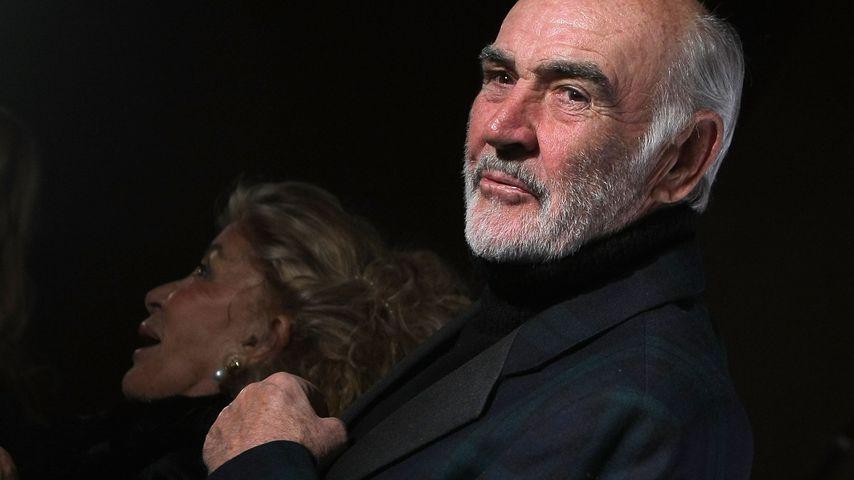 Sean Connery bei einer Fashion Show in NYC im März 2009
