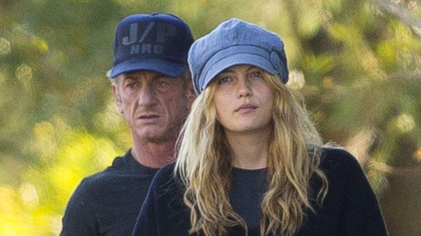 Sean Penn und seine Frau Leila George